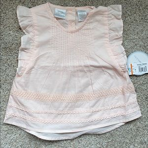 Toddler girl ruffle blouse 3T, NWT